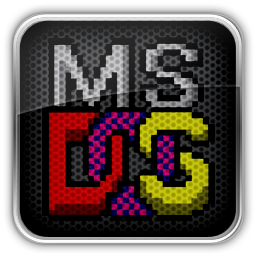 Ms dos icon by maxumipsum70 d4vn84z